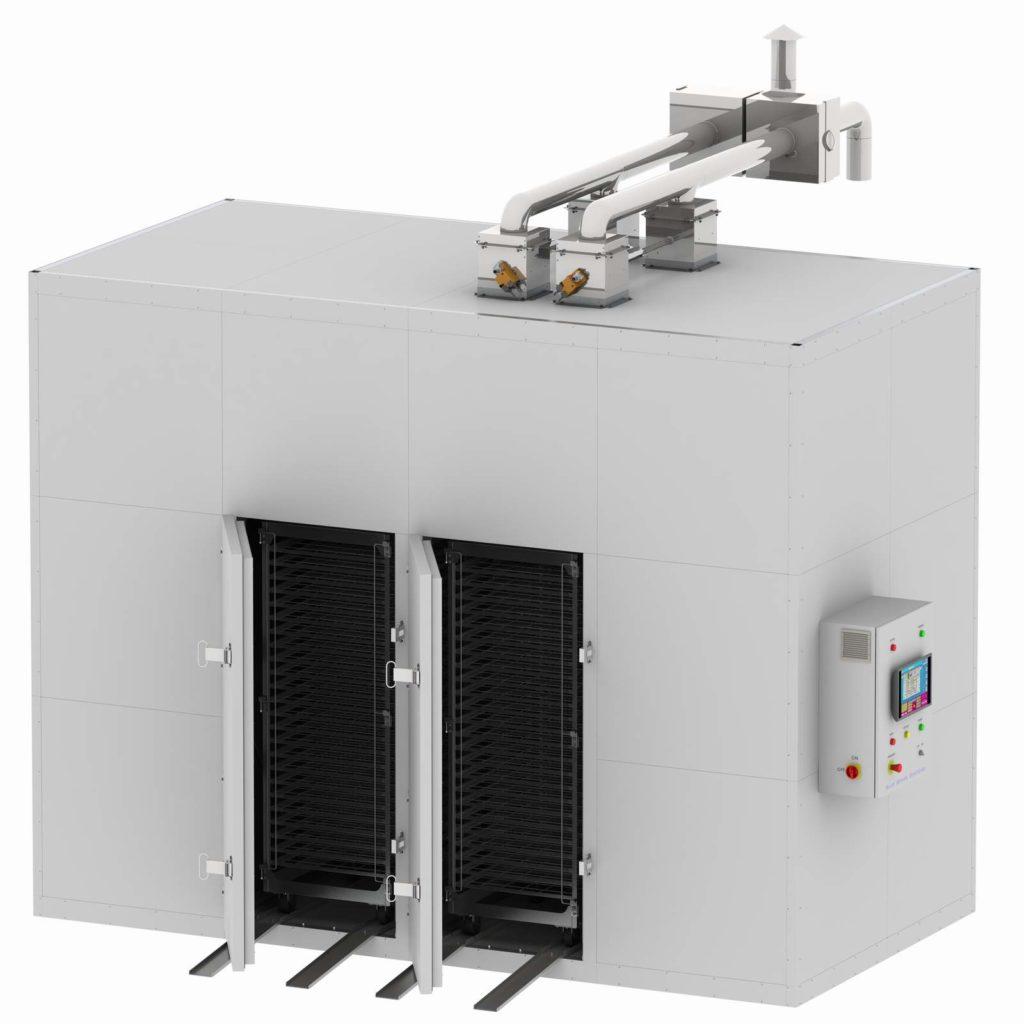Deshidrator FD-2x2 200kg