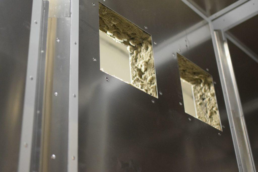 Izolatie perete deshidrator