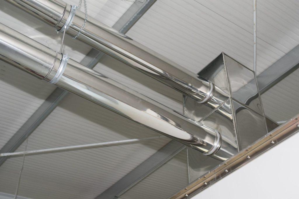 Sistem admisie-evacuare aer deshidrator